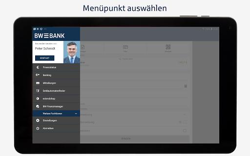 BW-Mobilbanking mit Smartphone und Tablet  screenshots 11