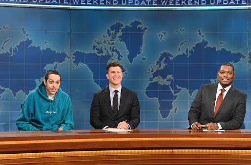 What did Pete Davidson say about Chrissy Teigen on SNL?
