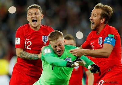 """? Le héros anglais répond à Courtois : """"Je me fiche de ne pas être le plus grand gardien"""""""