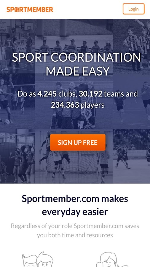 SportMember- screenshot