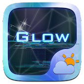 Glow GO Weather Widget Theme