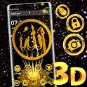 3D God Allah Launcher Theme🕌🌸 icon