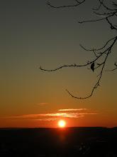 Photo: sunset on 11.November 2015 ...................  =)) it's been a surprisingly mild November so far .........