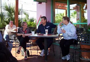 Photo: Pat Melcher, Mrs. Gashen, Robert Osborn, Barbara Osborn