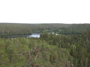 Photo: Dit meer heeft de vorm van een klaverblad.