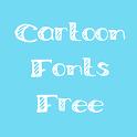 Cartoon Fonts Free icon
