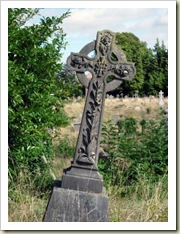 easter celtic cross