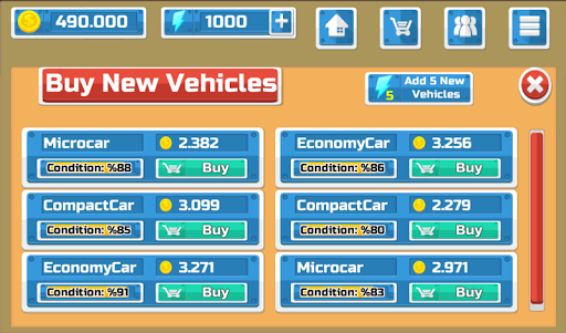 Car Dealership Business Tycoon