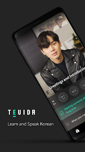 TEUIDA – Learn and Speak Korean MOD APK [Premium Unlocked] 1