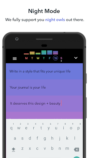 (APK) تحميل لالروبوت / PC Writeaday - modern journaling تطبيقات screenshot