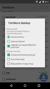 Partitions Backup & Restore App Download For Android 2
