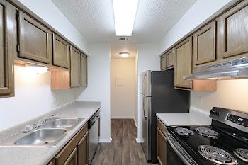 Go to Two Bedroom with Fireplace Phase 1 Floorplan page.
