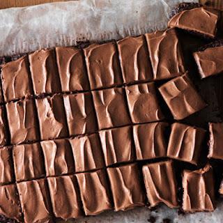 Chocolate-Zucchini Brownies