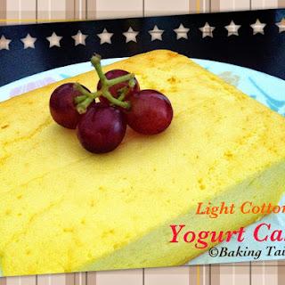 Light Cotton Yogurt Cake.