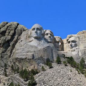Mount Rushmore by J.c. Phelps - Travel Locations Landmarks (  )