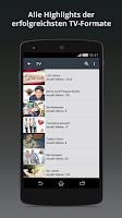 Screenshot of Clipfish: TV, Filme & Musik