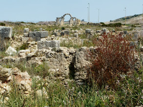 Photo: Volubilis - City Gate 168 AD ........... Stadspoort uit 168 n.C.