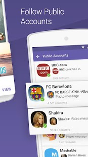 Viber Messenger Screenshots