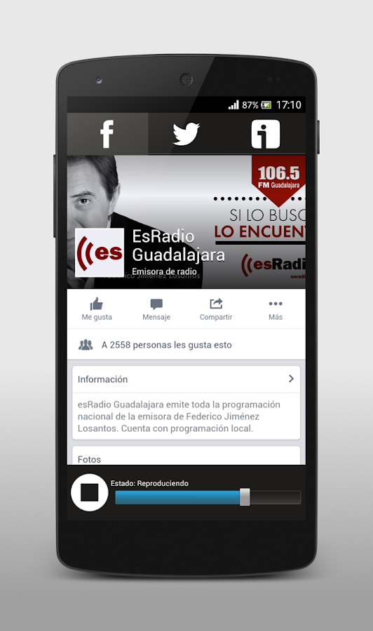 esRadio Guadalajara- screenshot