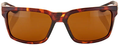 100% Daze Sunglasses: Soft Tact Dark Havana Frame with Bronze Lens alternate image 1