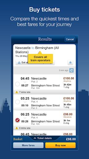 National Rail Enquiries 9.4.8 screenshots 4