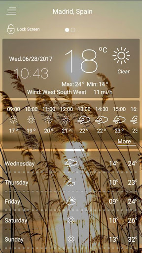 Weather 1.23.306 screenshots 3