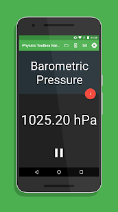 Physics Toolbox Barometer- screenshot thumbnail