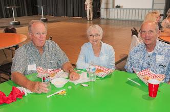 Photo: Tom & Jean (Golish) Clark, Bill Eldredge