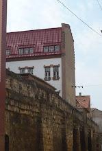 Photo: Az egykori várfal maradvány Kolozsváron