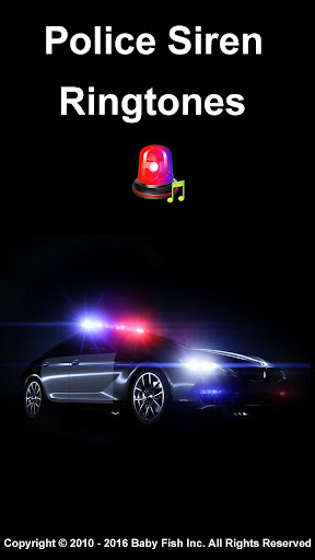警察のサイレン着メロ