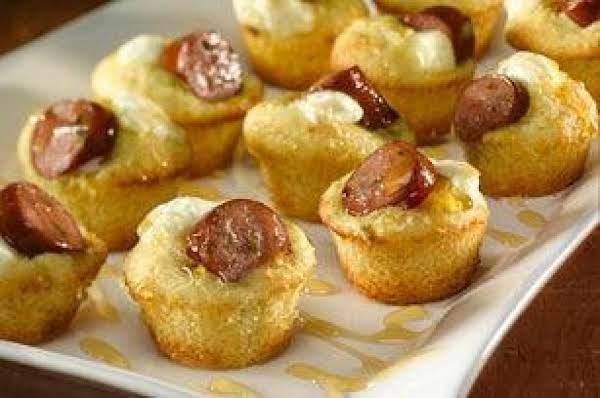 Mini Jalapeño Corn Dog Poppers Recipe