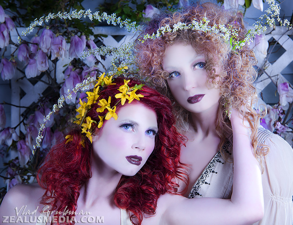 Creative Editorial for beauty salon web site and merchandise - Photography by Vlad Grubman / ZealusMedia.com