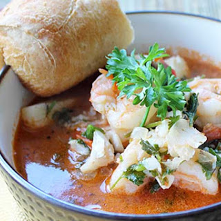Quick & Easy Seafood Stew.