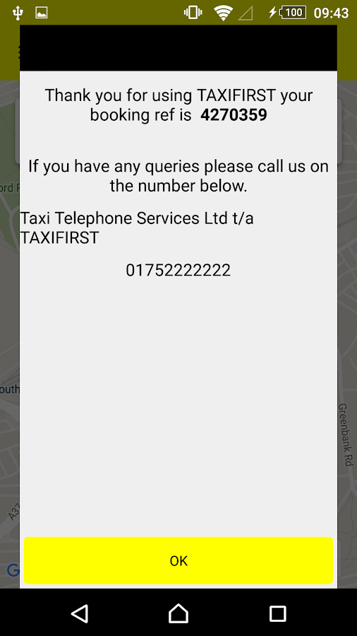 TAXIFIRST- screenshot
