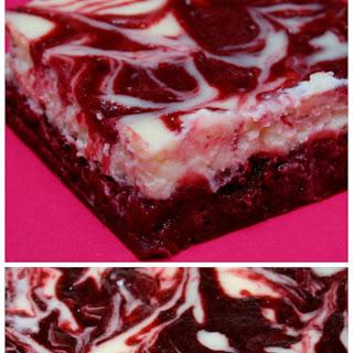 Red Velvet Brownies with Cheesecake Swirl Recipe