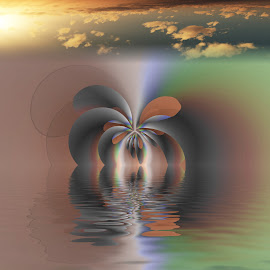 by Hary Carboni - Digital Art Abstract