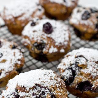 Blueberry, Yogurt and Whole-wheat Muffins