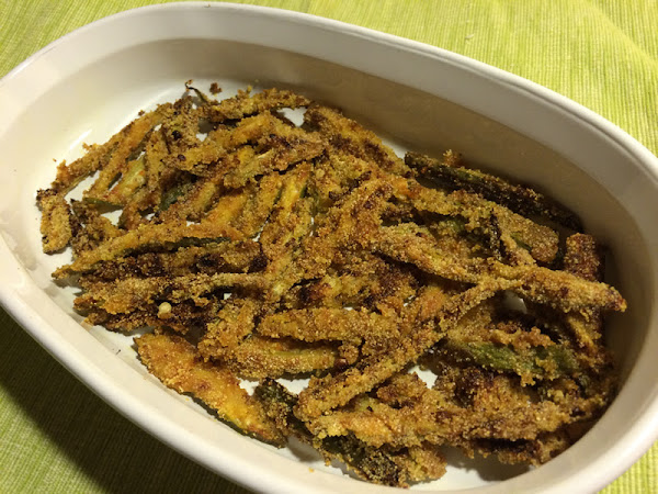 Kurkuri Bhindi/ Fried okra