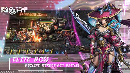 Battle Night: Cyber Squad-Idle RPG  screenshots 2