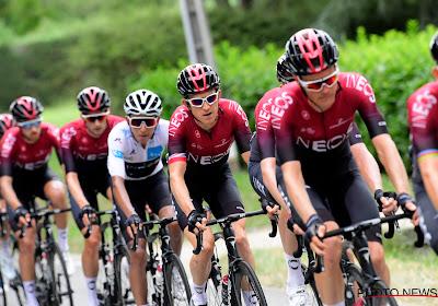 Team INEOS zakt met zeer sterke selectie af naar de Critérium du Dauphiné