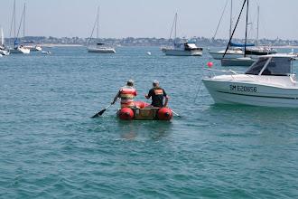 Photo: Mais  où est le bateau?