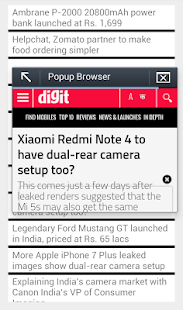 RSS Feed Reader screenshot