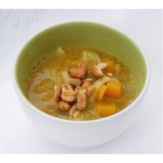 Squash, Carrot & Noodle Soup