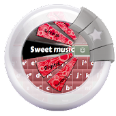 Sweet music GO Keyboard