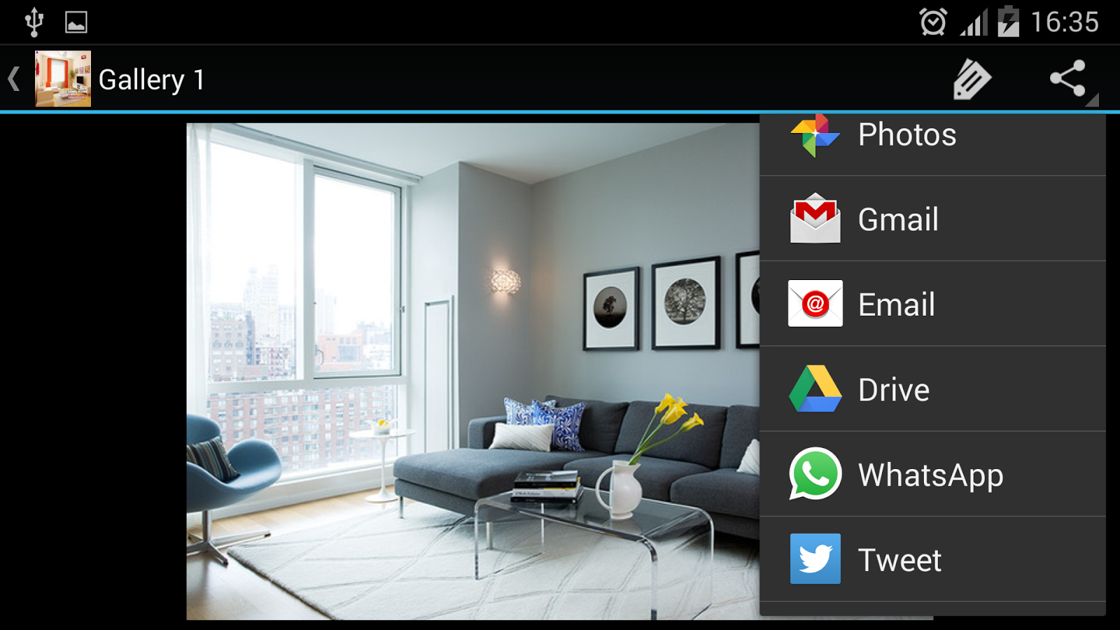 Living room ideas android apps on google play for Room design app using photos