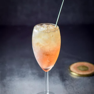 Classy and Heavenly Night and Day Cocktail.