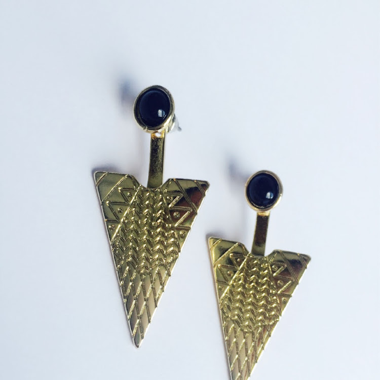 E030 - G. Cosmopolitan Textured Individualist Earrings