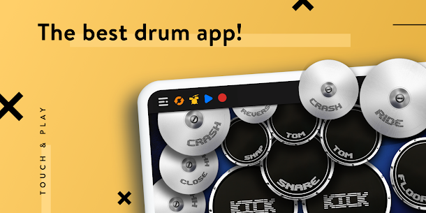 REAL DRUM: Electronic Drum Set Mod Apk [Premium Features Unlocked] 7