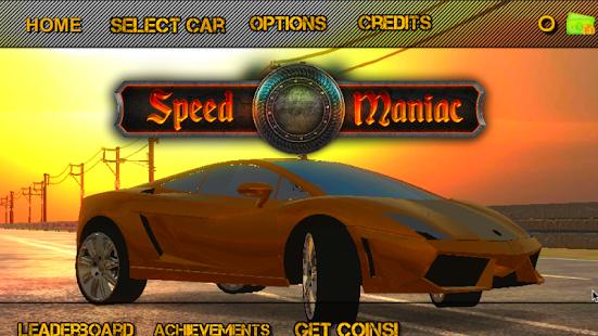 Speed Maniac - náhled