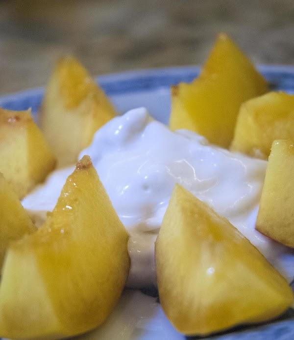 Peaches & Coconut Whipped Cream Recipe